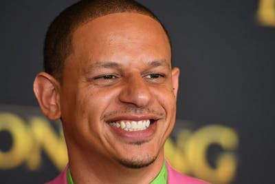 """US actor Eric Andre arrives for the world premiere of Disney's """"The Lion King"""" at the Dolby theatre on July 9, 2019 in Hollywood. (ROBYN BECK/AFP via Getty Images/TNS)"""