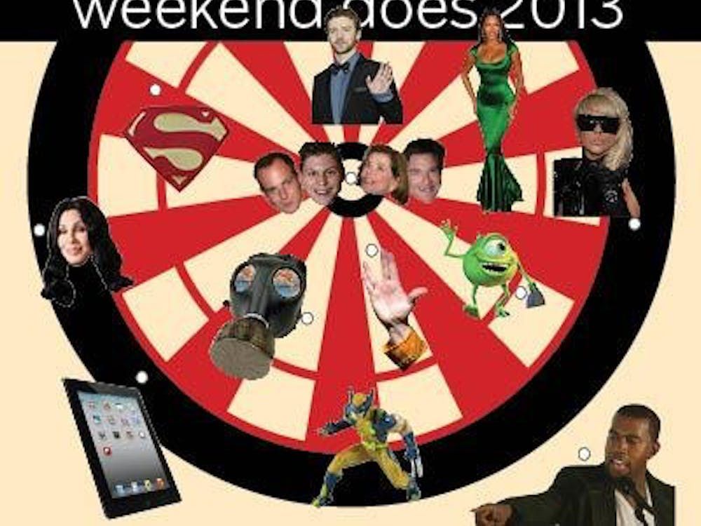Weekend predicts the biggest entertainment trends of 2013.