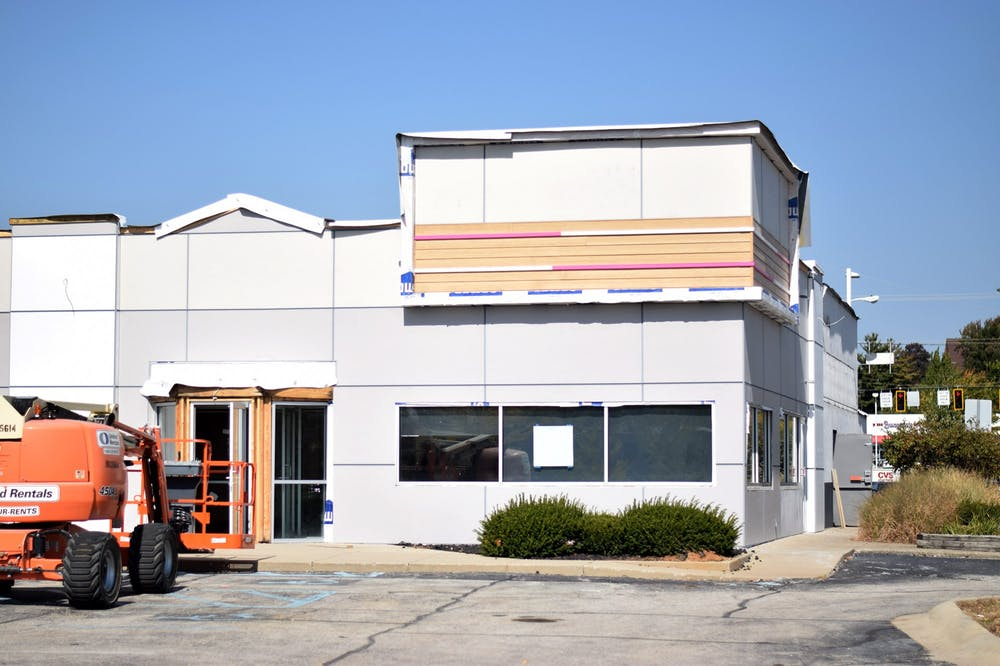 <p>A Dunkin' and Baskin Robbins are set to open near the College Mall in Bloomington. The location was formerly a Steak n' Shake.</p>