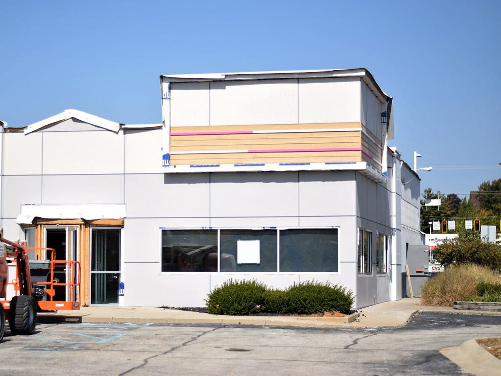 A Dunkin' and Baskin Robbins are set to open near the College Mall in Bloomington. The location was formerly a Steak n' Shake.