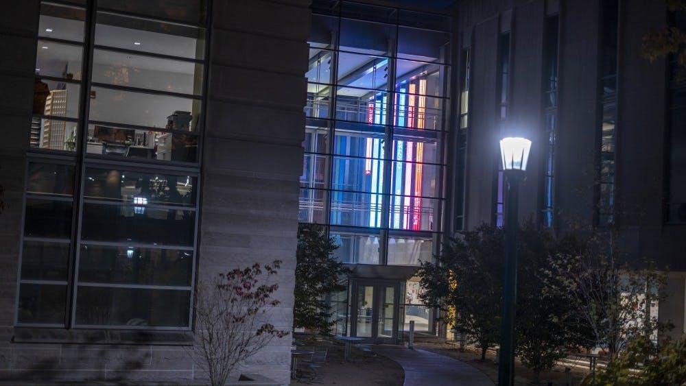 The Global and International Studies Building is located on North Jordan Avenue. The IU Islamic Studies Program tweeted in defense of Audrey Truschke, a professor of history at Rutgers University-Newark accused of Hinduphobia.