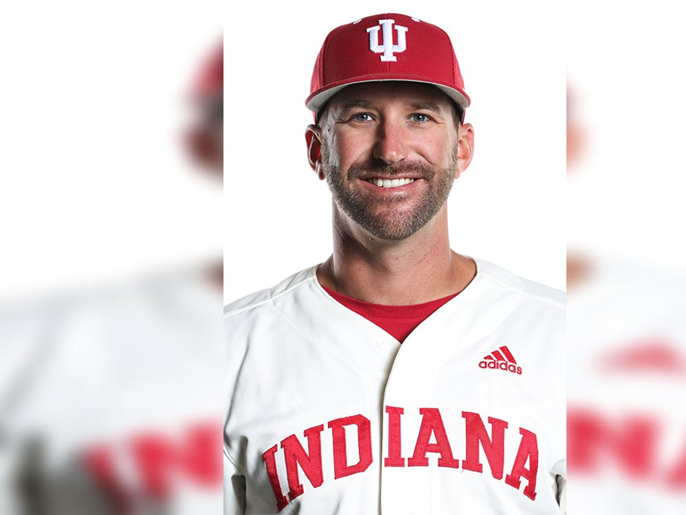 Former IU baseball pitching coach Justin Parker poses for a headshot. Parker was hired for the same position at the University of South Carolina last Thursday.