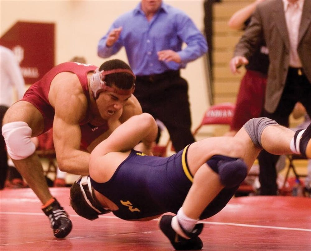 Everhart hopes to end career as nation's best - Indiana Daily Student