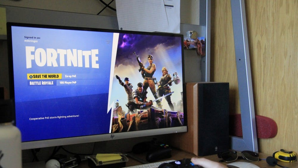 Fortnite was released in 2017. It is a co-op sandbox survival game developed by Epic Games and People Can Fly and published by Epic Games.