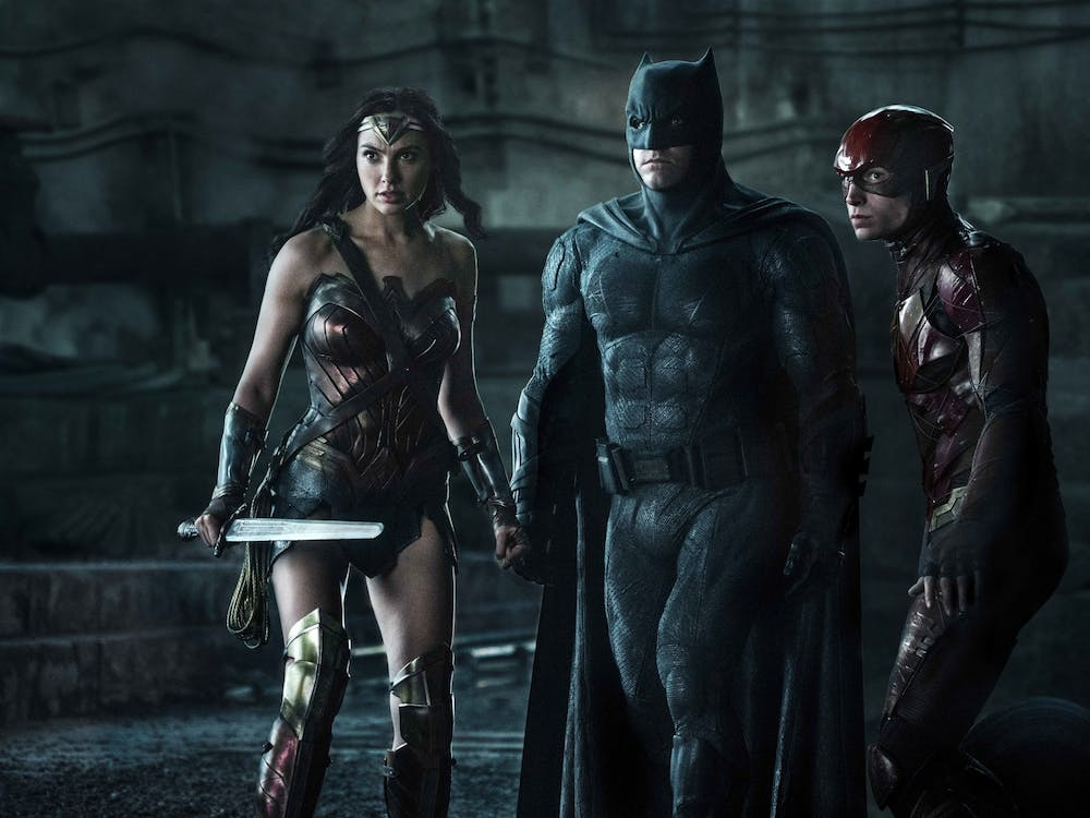 """A movie still from """"Justice League"""" is pictured. Zack Snyder's cut of the film added an extra two hours to the original runtime."""