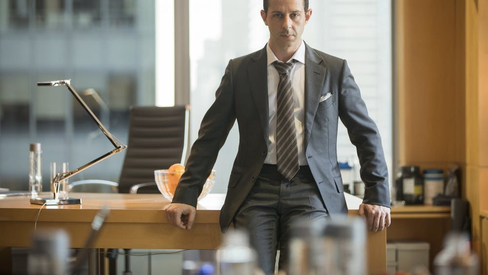"""The TV show """"Succession"""" stars Jeremy Strong."""