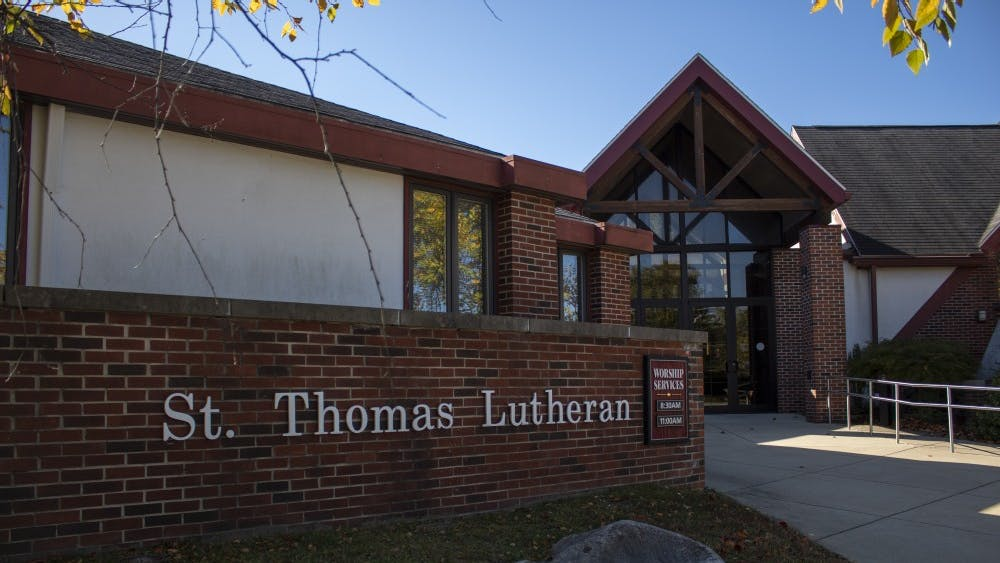 St. Thomas Lutheran Church sits at 3800 E. Third St. The Annual Spooktacular Halloween Organ Recital will take place at 7 p.m. Friday at the church.