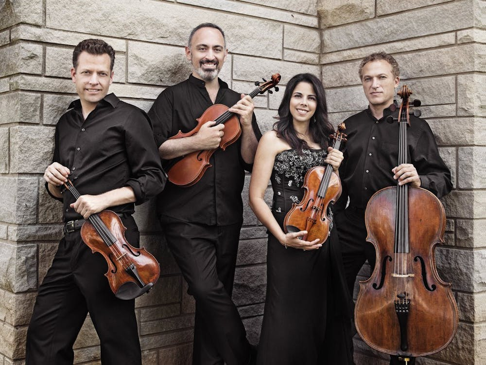 """Pacifica Quartet, Jacobs School of Music quartet-in-residence, won a Grammy award March 14 forBest Chamber Music/Small Ensemble Performance for their album """"Contemporary Voices."""""""