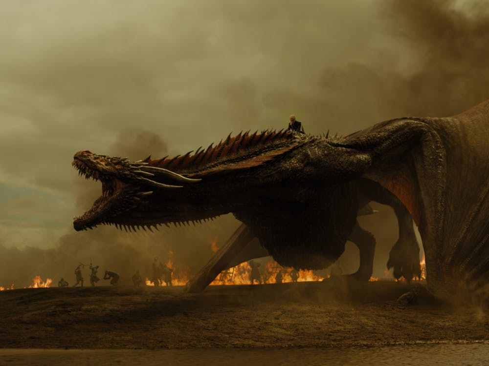 """A screen grab from the television show """"Game of Thrones"""" is pictured."""