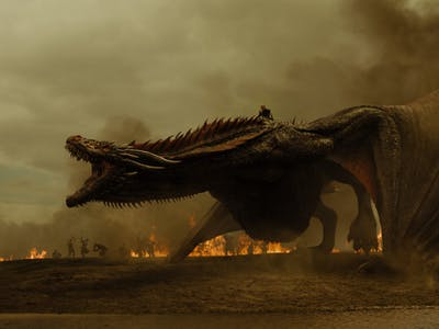"A screen grab from the television show ""Game of Thrones"" is pictured."