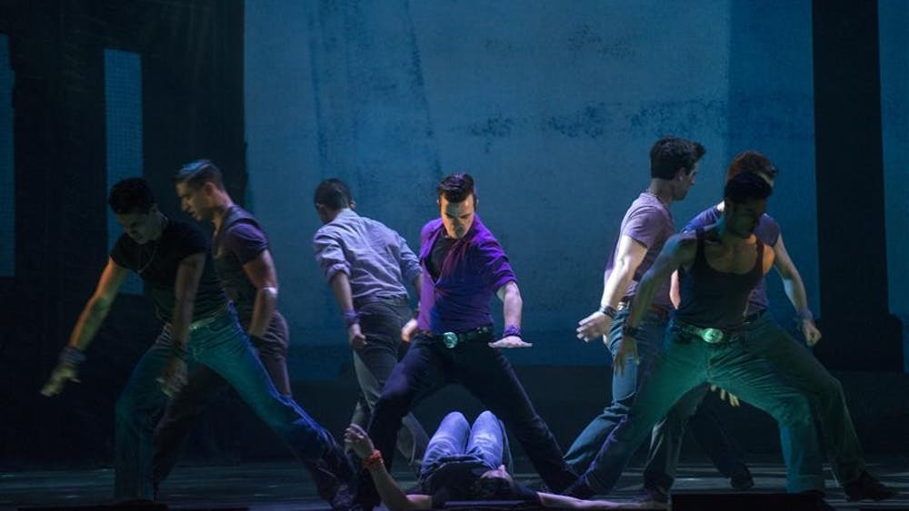 Broadway's musical West Side Story comes to Indiana University Auditorium on Tuesday and Wednesday.
