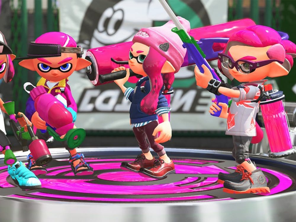 Splatoon 2 looks to improve on its popular WiiU predecessor by improving multi-player integration.