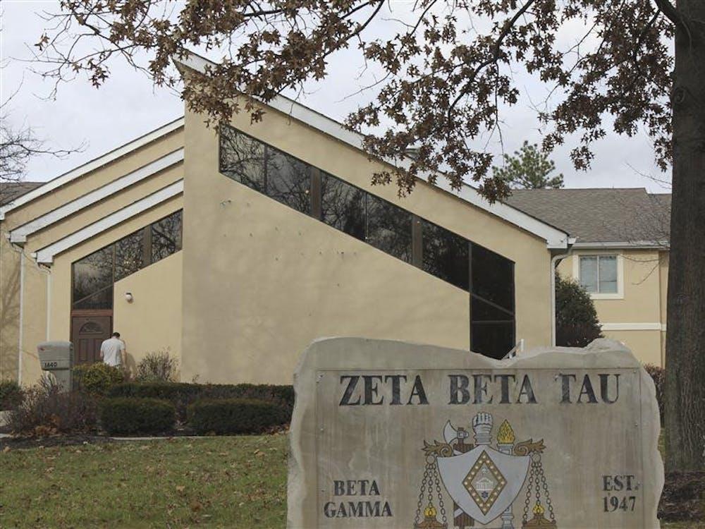 Zeta Beta Tau house