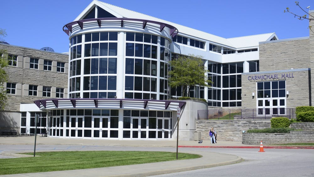 Bloomington High School South is one of multiple buildings in the Monroe County Community School Corporation to reopen for in-person instruction Tuesday.