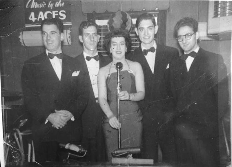 Courtesy of Katherine Logan Logan's Aunt Catherine pursued a career as a singer in California years ago.