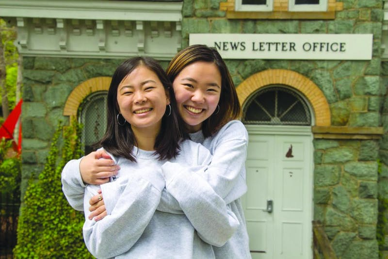 EDA Incekara/Photography Editor Kelsey Ko right)  joined The News-Letter during her freshman year and is now one of the editors-in-chief.