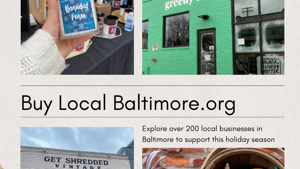 COURTESY OF EMERGENCE BALTIMORE Emergence Baltimore initiatives are supporting local businesses in Baltimore as holiday shopping commences.