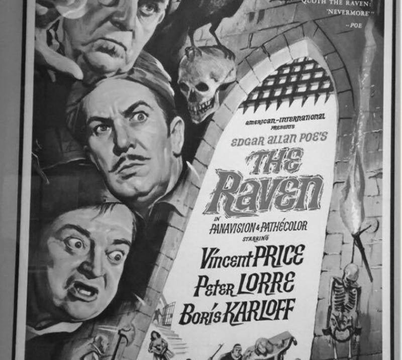 COURTESY OF RENEE SCAVONE The Raven movie poster