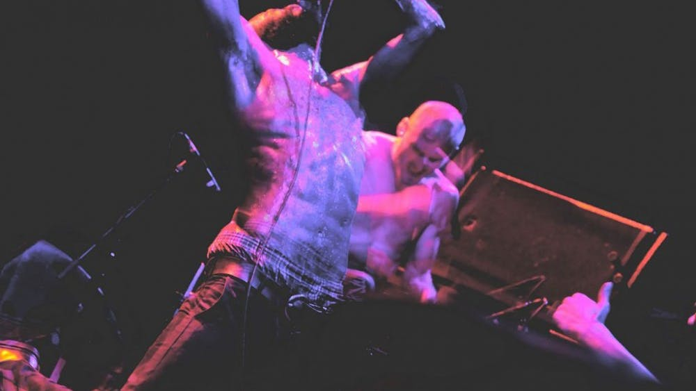 KENNYSUN/CC-BY-SA-3.0 Death Grips' MC Ride is known for his visceral live performances.