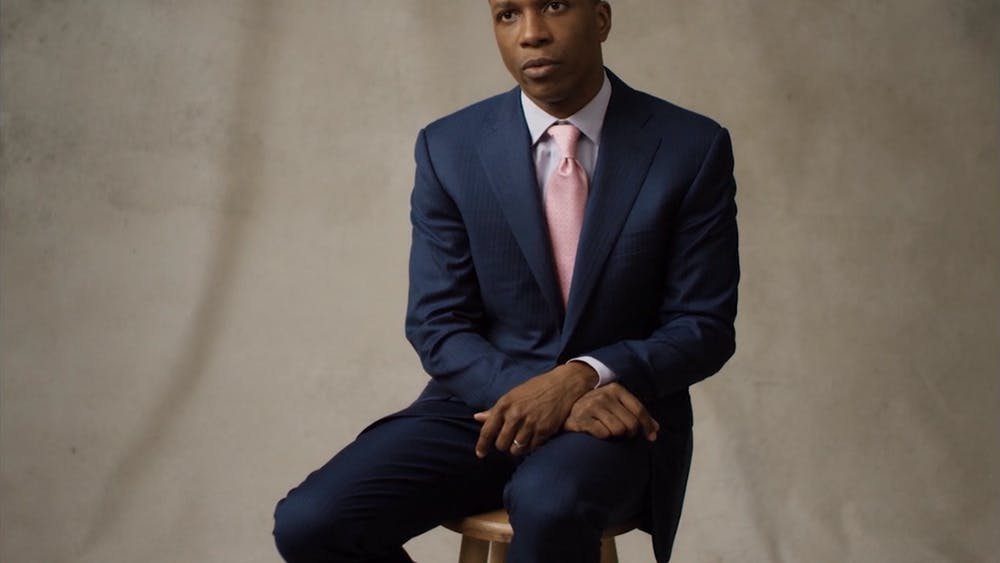 WARREN ELGORT/CC BY 3.0 Hamilton actor Leslie Odom Jr. releases a refreshing and long-awaited album.