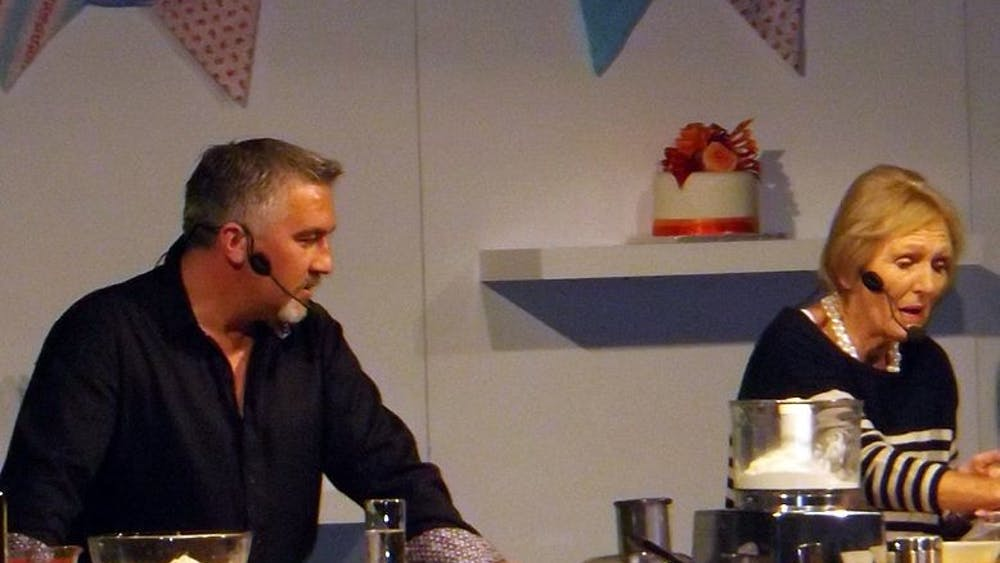 Rinkydinkpanther/cc by-s.a 4.0 The Great British Bake-Off judge Paul Hollywood brings personality to the competition.