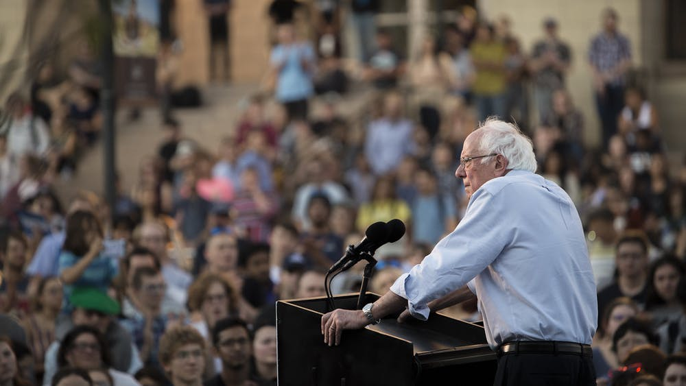 TREVOR BEXON/CC BY 2.0 Azmi argues that Sanders offers much-needed change to American politics.