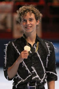 DAVID W. CARMICHAEL/CC BY-SA 3.0 Rippon is an American figure skater and represented the US during the 2018 winter olympics.