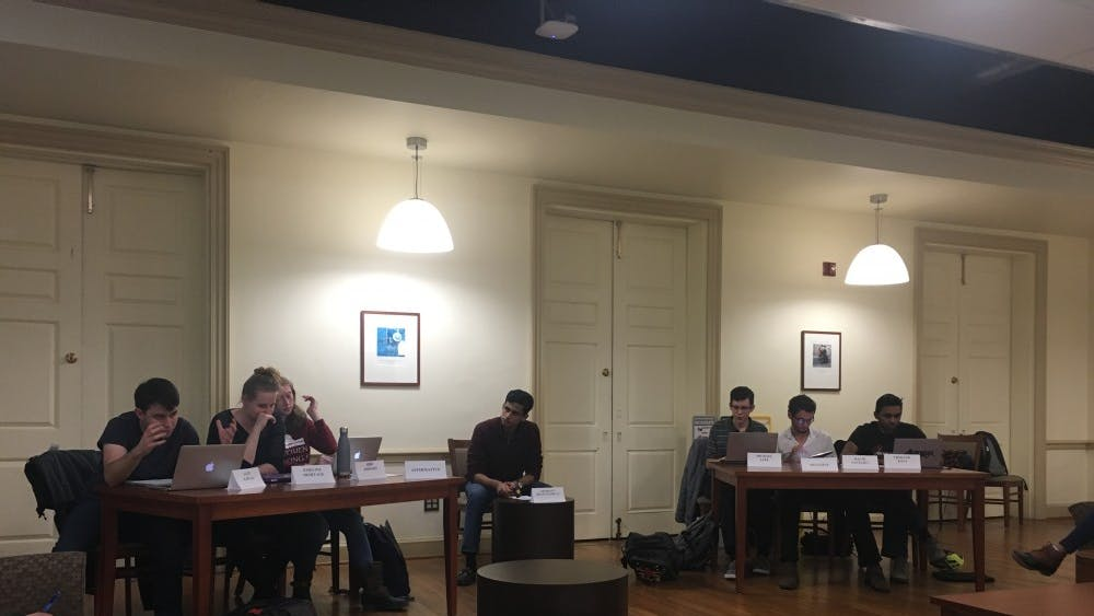 COURTESY OF KAREN WANG Discourse is a student group that holds semi-monthly debates on campus.