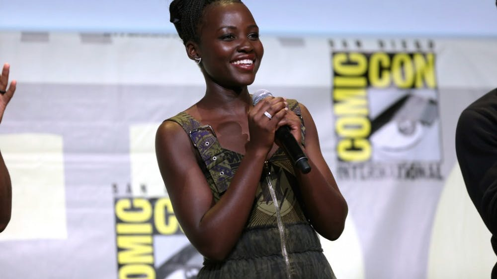 GAGE SKIDMORE/CC-BY-SA-2.0 Acclaimed actress Lupita Nyong'o, who portrays Phiona's mother, spoke at the 2016 San Diego ComicCon.