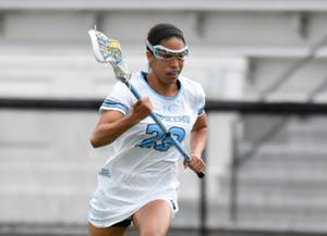 HOPKINSSPORTS.COM Freshman Trinity McPherson was named the Defensive Player of the Week.