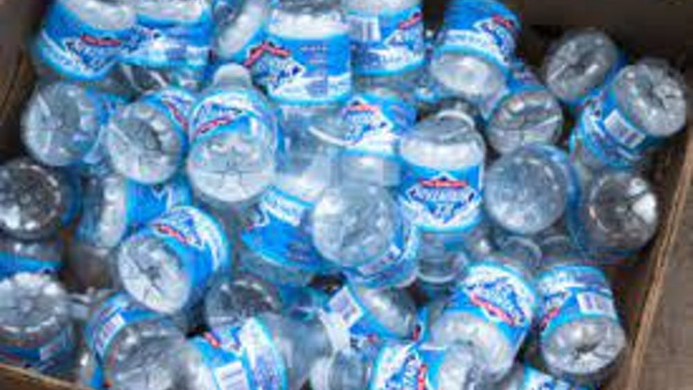STEVEN DEPOLO/CC BY 2.0  Cities with PFAS-contaminated water supplies may become entirely reliant on bottled water.