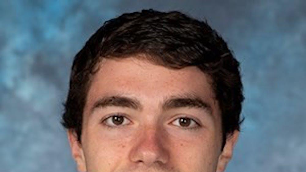 Sophomore Blue Jay Jared Pangalozzi