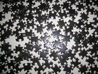 COURTESY OF PATAFISIK/CC BY-SA 3.0 Each of us is a puzzle made up of pieces of those that have inspired us .