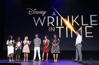 melissa hiller/cc by 2.0 Ava DuVernay's A Wrinkle in Time features an ensmeble cast, inlcuding Oprah Winfrey and Mindy Kaling.