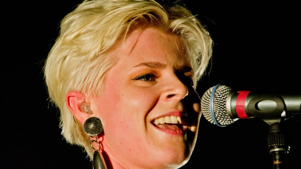 "Bill Ebbesen/ CC by 3.0 The singer Robyn is best known for the songs ""Dancing On My Own"" and ""Call  Your Girlfriend."""