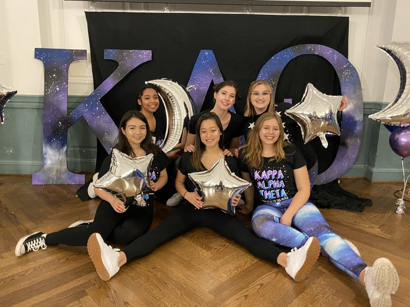 COURTESY OF CECILIA VORFELD As her college career comes to a close, Vorfeld reflects on the impact her sorority had on her.