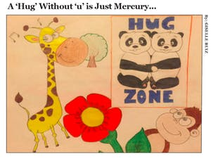 A 'Hug' Without 'u' is Just Mercury...