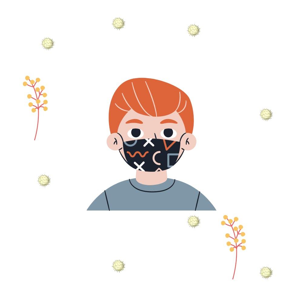 mask-pollen