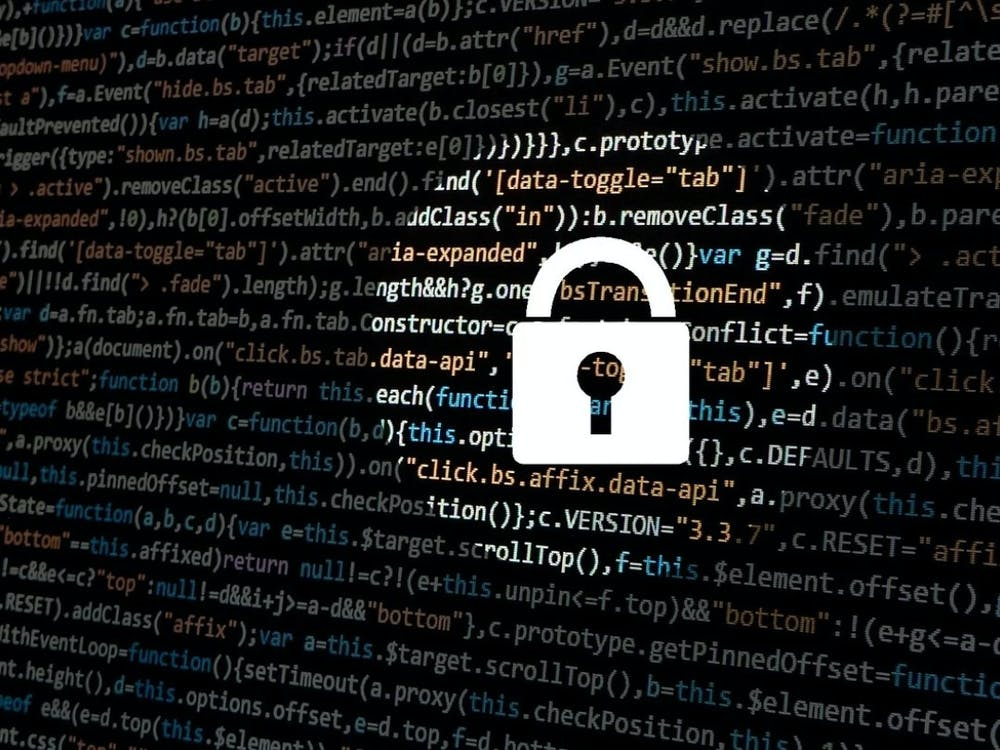 PUBLIC DOMAIN Hopkins undergrads are working with Anton Dahbura and Terry Thompson to continuously update the Cyber Attack Predictive Index.