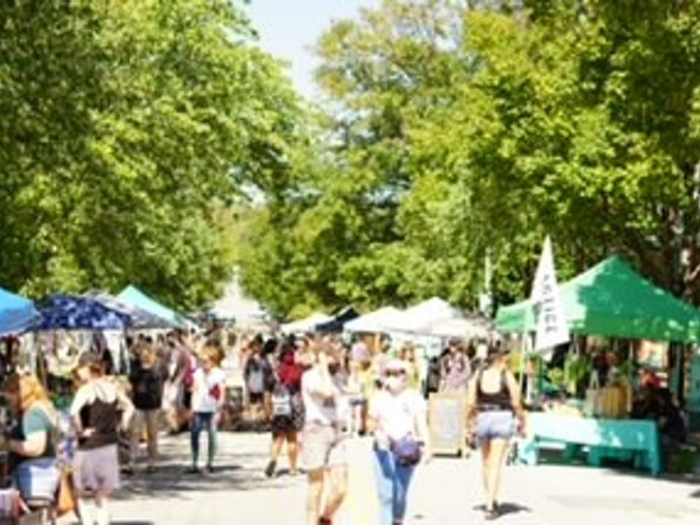 COURTESY OF TEDDY WADSTEN The Abell Street Fair was another success; visitors have yet to be disappointed.