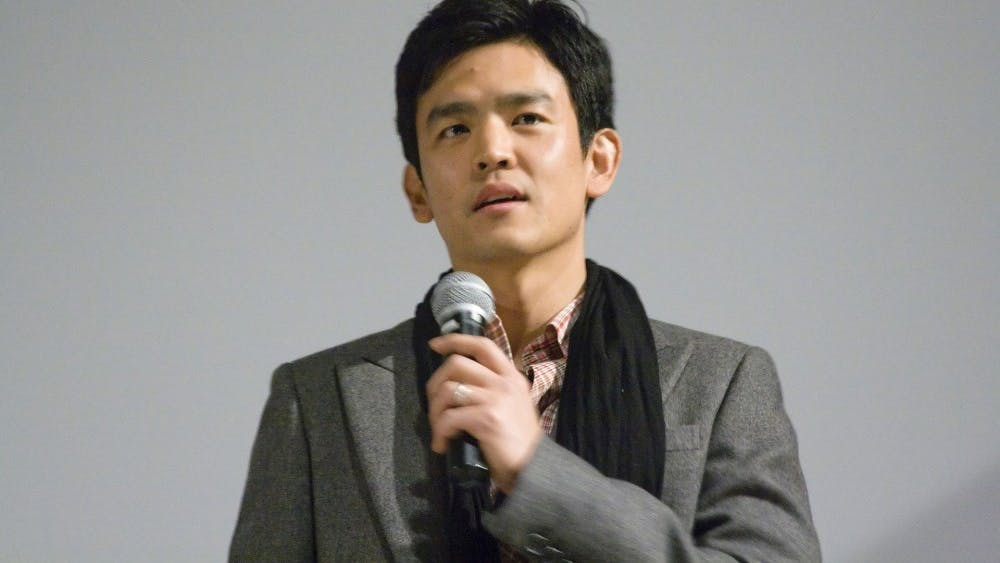 Charlie Nguyen/ CC BY 2.0 Actor John Cho plays the lead role in the new thriller film Searching.