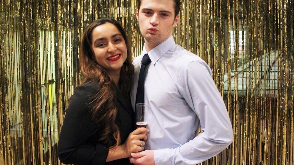 COURTESY OF SANIYA RAMCHANDANI Ramchandani and her boyfriend have been together for over two years.