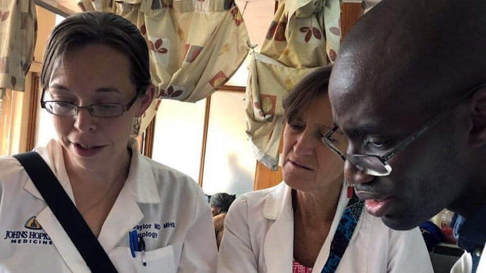 COURTESY OF DEANNA SAYLOR Since 2018, Saylor has spent her time building neurology training in Zambia.