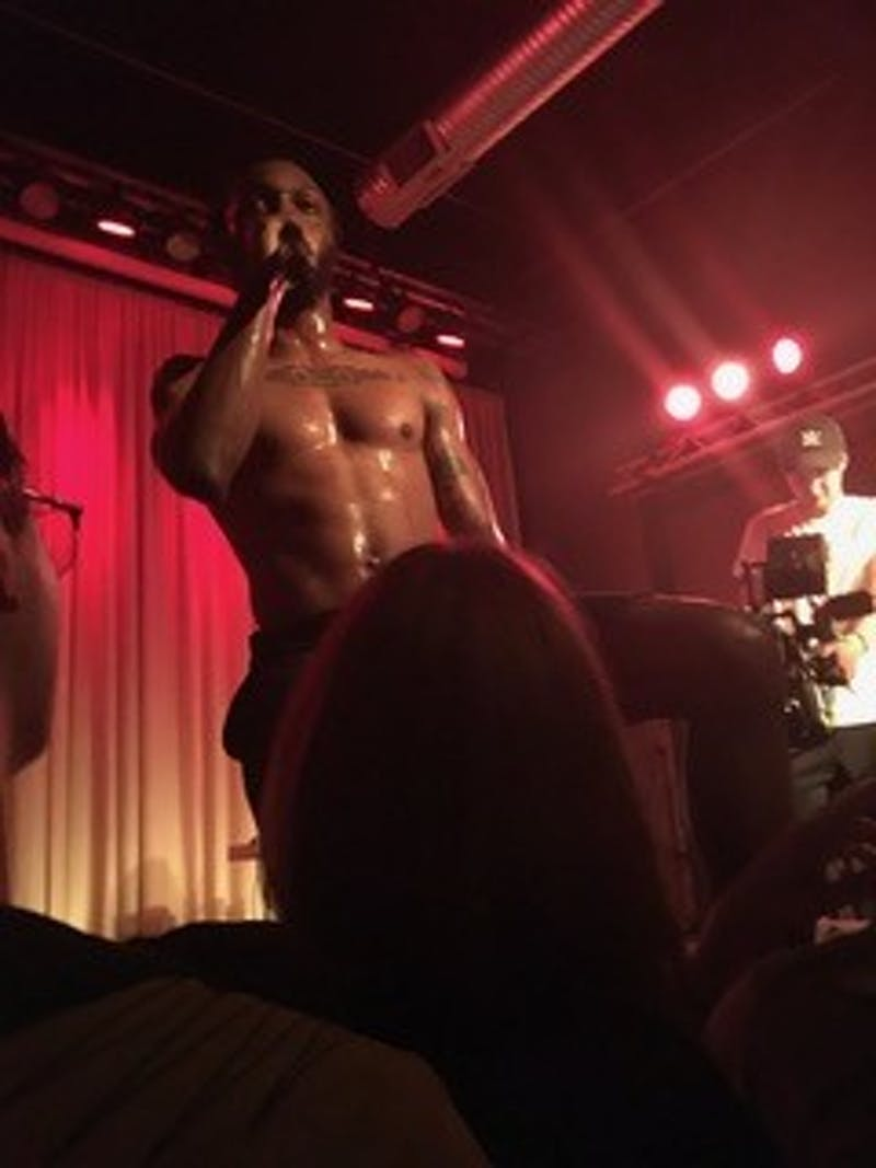 Courtesy Nikita Shtarkman  Local artist JPEGMAFIA performed at The Metro Gallery on Friday, September 14.