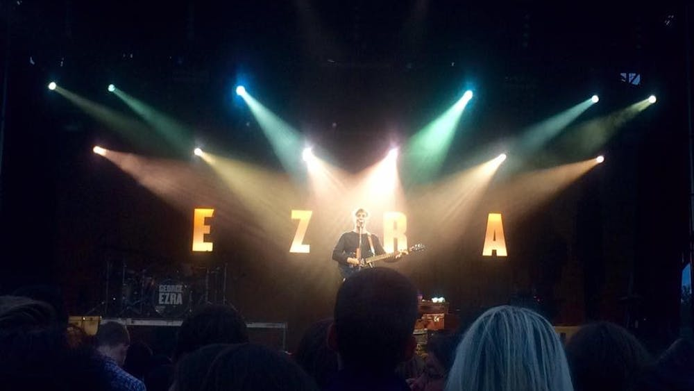 Courtesy of RACHEL BIDERMAN  George Ezra charmed the audience with his endearing smile and lyrics.