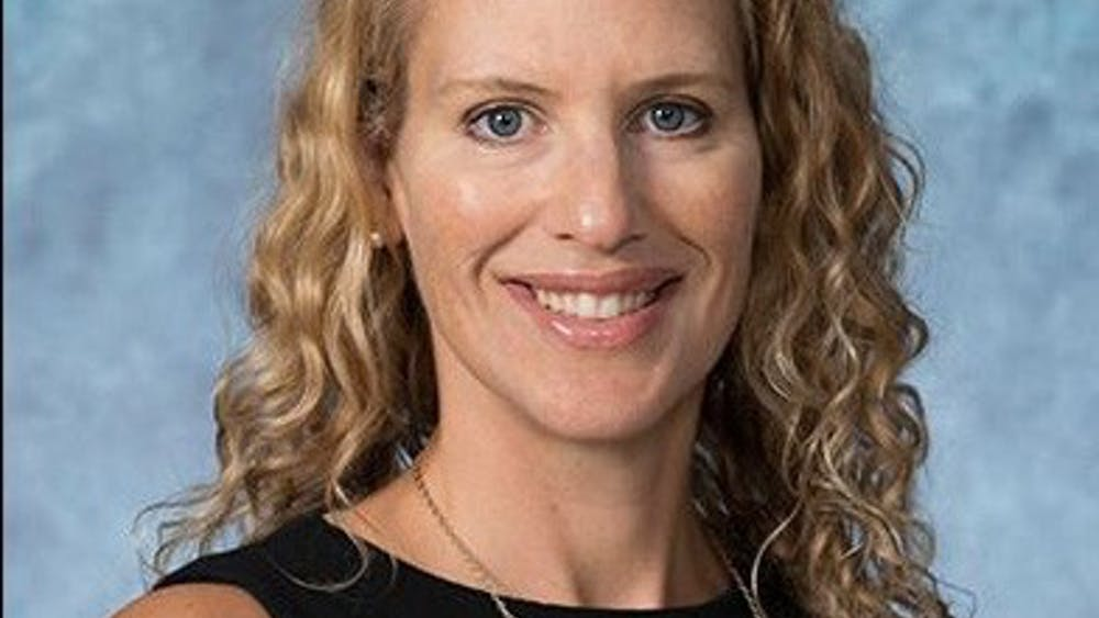 HOPKINSSPORTS.COM Jennifer Baker was named the new director of athletics on August 8.