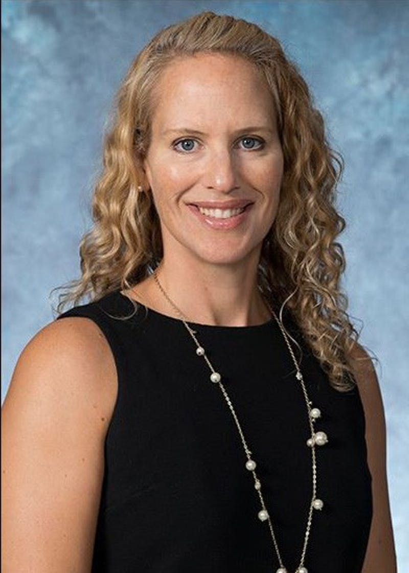 HOPKINSSPORTS.COM Jennifer Baker was named the new director of athletics on August 8.