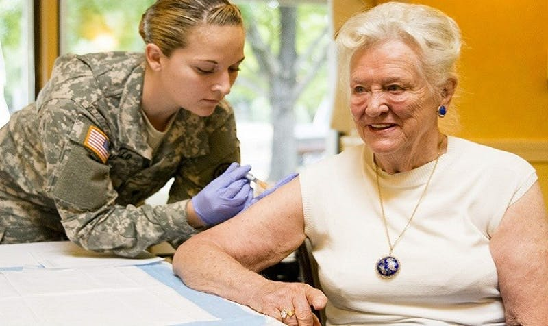 PUBLIC DOMAIN According to the CDC, the flu vaccine seems to be less effective than it has been in the past.
