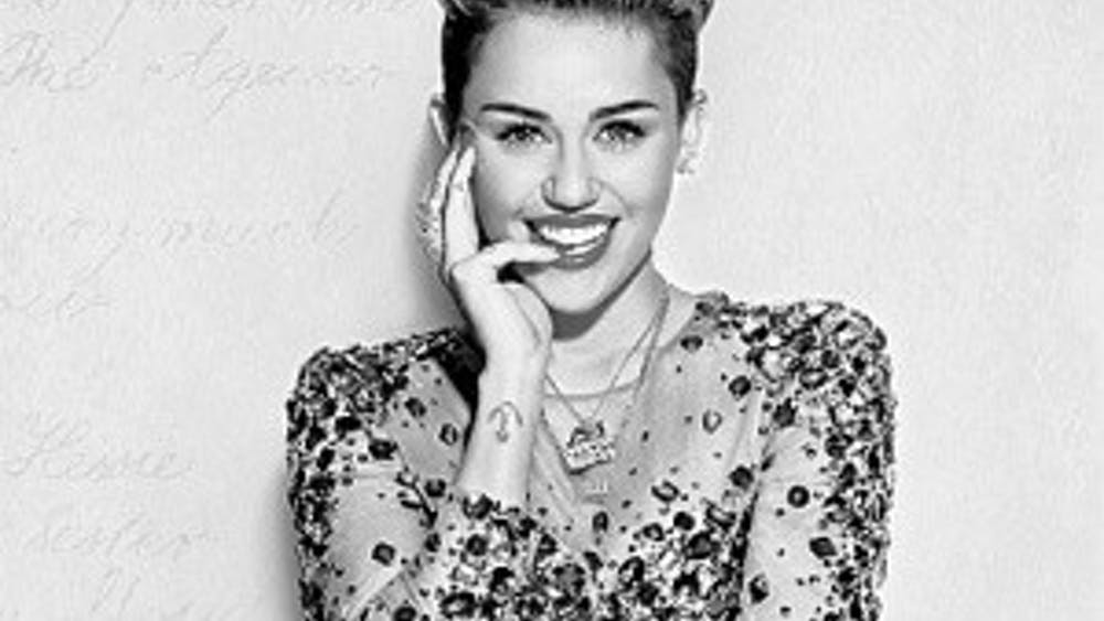 WIKIMEDIA.ORG Miley Cyrus translates her outlandish personality into her latest album, which she dropped unexpectedly.