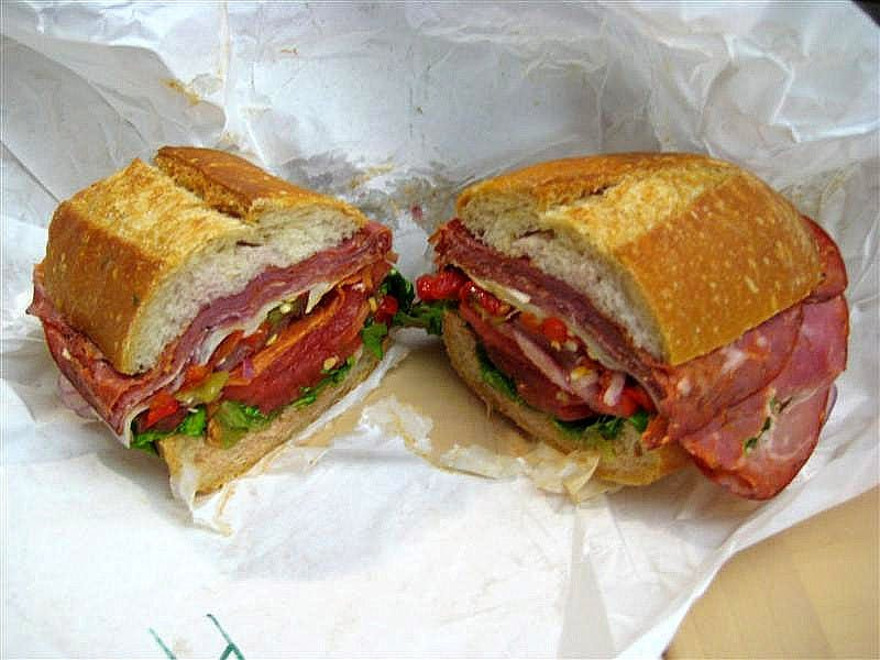 PHOTO COURTESY OF BILLYTFRIED / CC  BY.SA 3.0 Sandwiches like #1's and pasta salads are a staple across Italian deli's